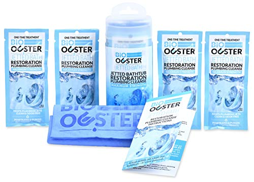 Bio Ouster Jetted Bath Cleaner and Bacteria Purge - Removes Black Flecks and Contaminants