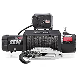 Smittybilt 98495 XRC Synthetic Rope Winch - 9500 lb. Load Capacity