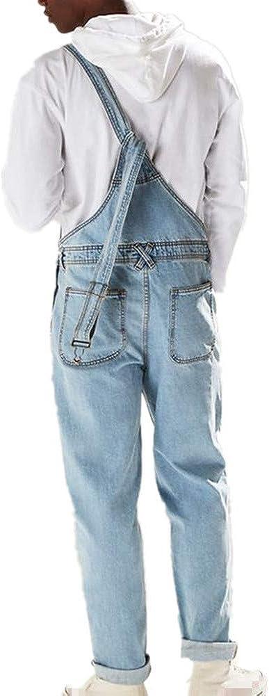 Salida De Fabrica Fansu Peto Jeans Monos Hombres Denim Jeans Bib Overoles Pantalon Vaqueros De Mono