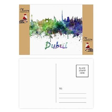 Dubai - Tarjeta postal de agradecimiento (20 unidades ...