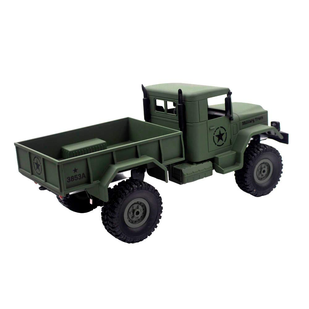 Choosebuy 1:16 Military Off-Road Remote Control Truck, Cool 6WD Powerful Engine Bright Spotlights RC Tracked Cars Toys with 2.4GHz Technology for Indoors/Outdoors (Army Green) by Choosebuy (Image #4)