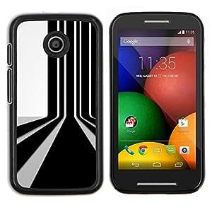 < Kobe Diy Case> Ultra cubierta de la caja protectora - FOR Motorola Moto E (1st Gen, 2014) - Barcode Wall -