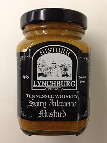 Price comparison product image Historic Lynchburg Spicy Jalapeno Mustard w / Jack Daniels Whiskey