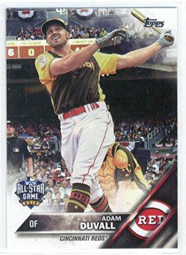 19697b53d Amazon.com  2016 Topps Update Baseball  US54 Adam Duvall Reds  Collectibles    Fine Art