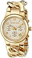 Michael Kors Women's Runway Gold-Tone Wa...