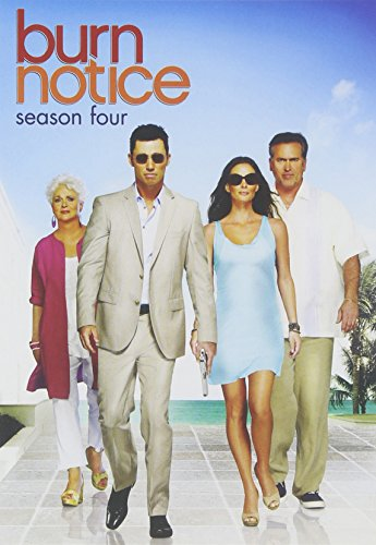 Burn Notice: Season 4 -  DVD, Rated PG-13, Jeffrey Donovan