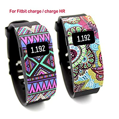 VOMA Newest Band Cover for Fitbit Charge/Fitbit Charge HR Slim Designer Sleeve Protector Accessories
