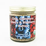 Living Tree Alive Organic Chia, Cranberry, Cherry & Blueberry Butter - 8 Ounce