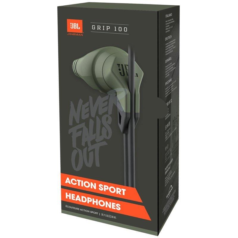 89d693f51f3 JBL Grip 100 In-Ear Sweat-Resistant Sport Headphones: Amazon.co.uk:  Electronics