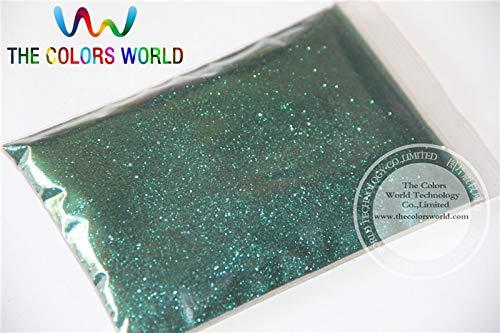 Kamas TCM0622 Dark Olive Green Color Glitter powder -0.2MM glitter dust dazzling glitter powder,DIY Flash powder - (Color: 200g)