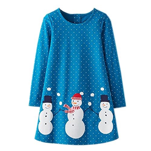 IsabelaKids Girls Cotton Long Sleeve Casual Cartoon Appliques