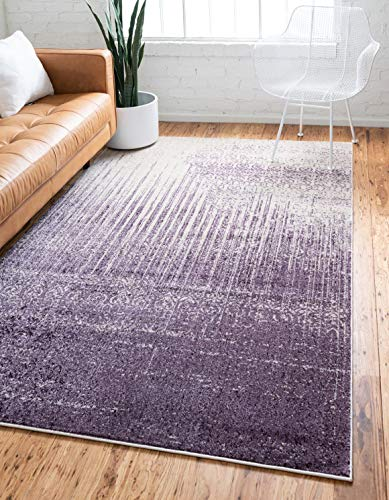 We Rugs Beautiful Area Rugs for Living Room Decor, Modern Geometric Handmade Area Rug, Yellow 4 x 6