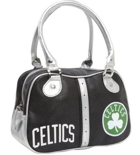 Boston Celtics Handbag Retro Bowler Design Ethel