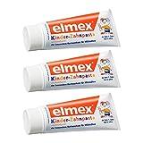 ELMEX Toothpaste Children Kids 0-6 Years Old - 3x50ml 3x1.69oz (3 Pack)