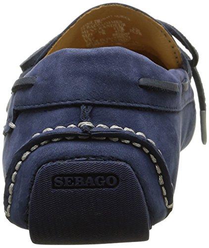 Sebago SebagoKedge Tie - Mocasines Hombre Azul (Navy Nubuck)