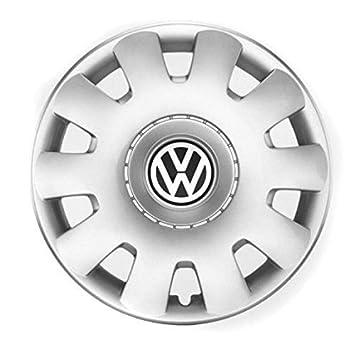 Volkswagen Original Tapacubos de 15 Pulgadas Golf Bora Polo Beetle Tapacubos 4 x Tapas 1j0071455: Amazon.es: Coche y moto