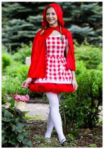 Fun Costumes Teen Red Riding Hood Tutu Costume Teen (Little Red Riding Hood Halloween Costume Teenager)