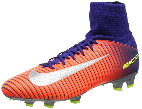 huge discount 4ddc4 8e606 Nike Kids Jr. Mercurial Superfly V FG Soccer Cleat (Sz. 6Y) Deep Royal  Blue, Total Crimson