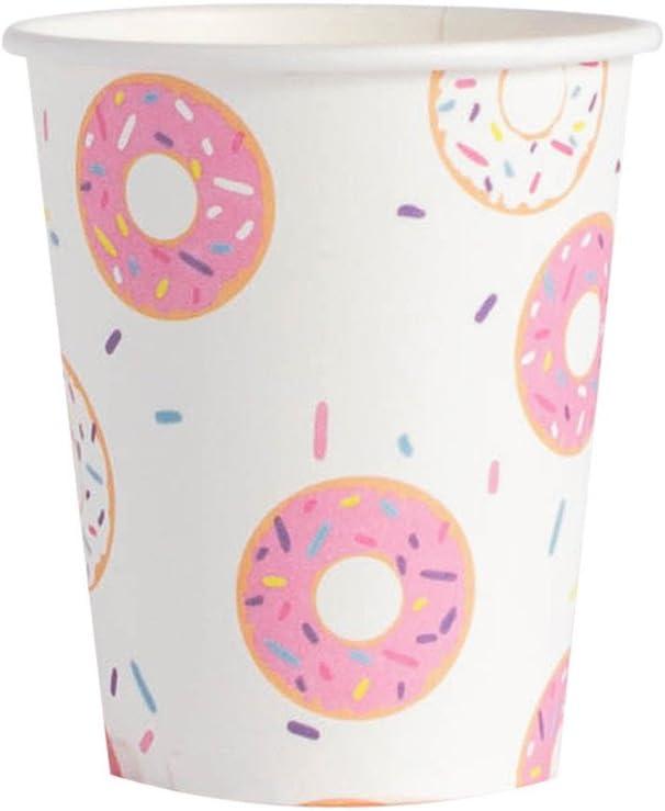 InviteMe 10/bonita vasos de papel de la serie DOLCE Donut Multicolor