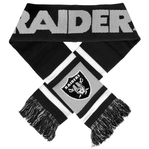 NFL Oakland Raiders 2012 Team Stripe Scarf