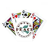 Olive Branch Peace Freedom Symbol Poker Playing Cards Tabletop Game Gift