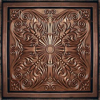 Astana Antique Copper Black Ceiling