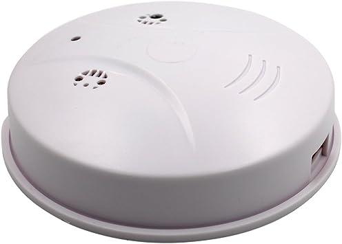 Wireless Wifi Hidden IP Spy Camera Cam Smoke Detector Hidden Mini Camcorder US