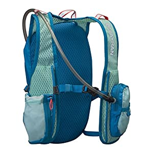 Nathan Moxy Hydration Pack, 2-Liter, One Size, Blue Danube