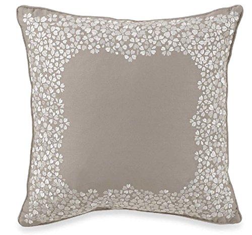 "Charisma Carrington Embroidered 14"" Square Decorative Pillow"