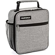 MAZFORCE Original Lunch Box Insulated Lunch Bag - Tough...