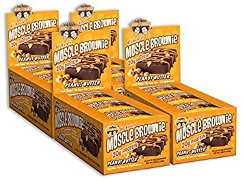 amazon lenny larry s muscle brownie peanut butter 2 82 ounce