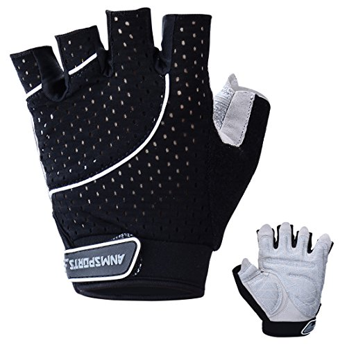 Anmsports Padded Fingerless Gloves