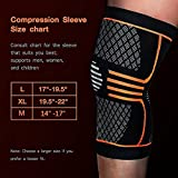 ZetHot Knee Compression Sleeve Support Brace(Pair) Knee...