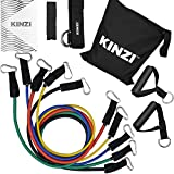 Kinzi Resistance Band Set with Door Anchor, Ankle...