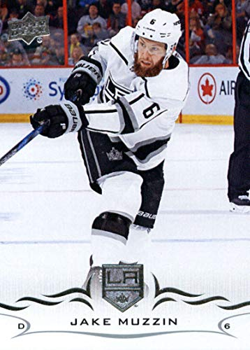 (2018-19 Upper Deck #338 Jake Muzzin NM-MT Los Angeles Kings Official NHL Hockey Trading Card)
