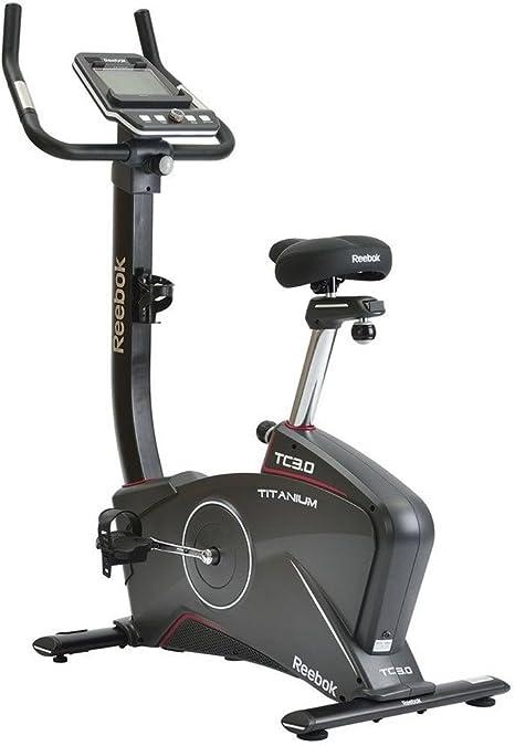 Reebok Bicicleta estática TC 3.0 Titanium - Negro: Amazon.es: Deportes y aire libre