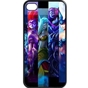 Custom personalized Protective Case for iPhone 4/4s - Game League of Legends LOL
