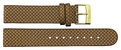 moog Gold Leather Band Replacement Pin Clasp, 18mm Strap _ B18010