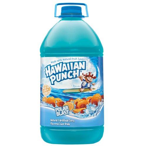 Hawaiian Punch Polar Blast, 1 gal bottles (Pack of 4)
