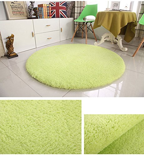 ZGP Interior carpet Round carpet fitness yoga mats living room bedroom computer chair carpet blanket (Color : D, Size : ()