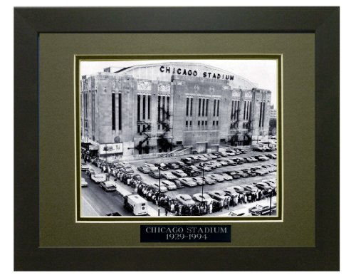 Historic Chicago Stadium 1929-1994. Professionally Matted an Framed 8x10 Photo to an 11x14