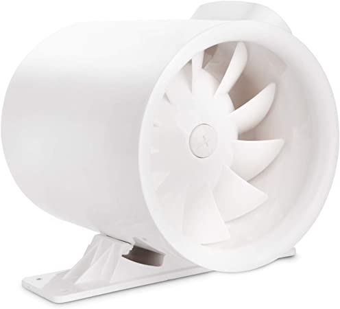 """Duct Booster Inline Fan Environment Commercial Residential Air 4/"""" 6/"""" 8/"""" inches"""