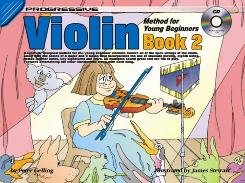 CP69203 - Progressive Violin Method for Young Beginners Book 2 Book/CD