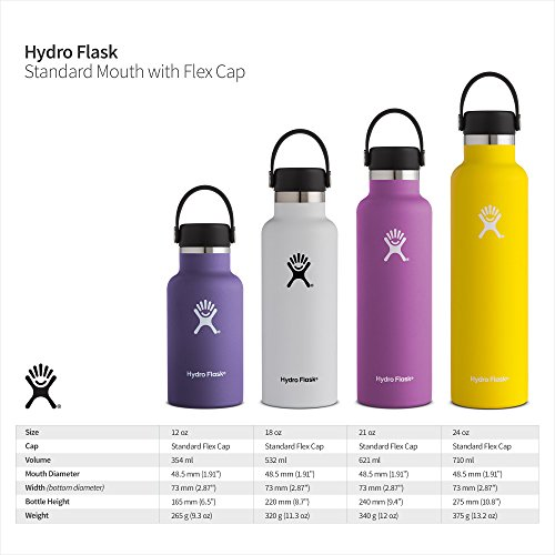 Hydro Flask Double Wall Vacuum Insulated Stainless Steel