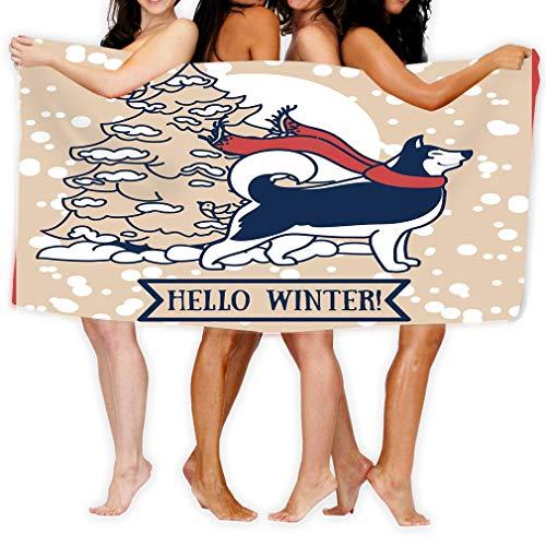 - zexuandiy Large Beach Towel, Soft 31