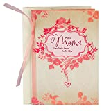Tell Mom how much she means to you this year with this beautiful card featuring soft pink and coral leaf and floral accents. Printed on high quality paper stock, this Mother's Day card is the perfect opportunity for thoughtful daughters to se...