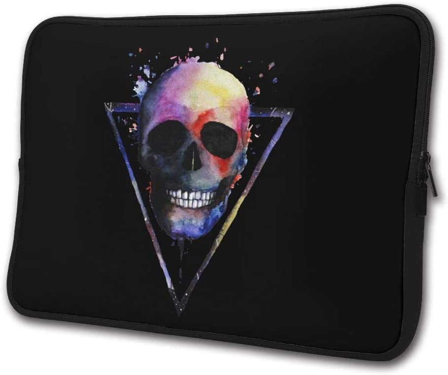 Yongchuang Feng Skeleton Sleeve Laptop Bag Tablet Case Handbag Notebook Messenger Bag for Ipad Air MacBook Pro Computer Ultrabook 13-15 Inches