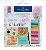 Faber-Castell Designing with Gelatos - Complete Mixed Media Kit