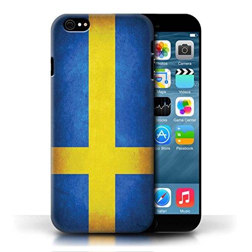 Etui / Coque pour Apple iPhone 6/6S / Suède/suèdois conception / Collection de Drapeau