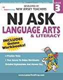 NJ ASK Practice Tests and Online Workbooks - 3rd Grade Language Arts and Literacy - Third Edition, Lumos Learning, 1466251158